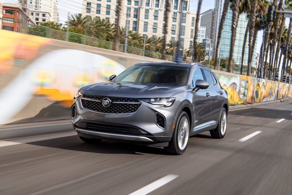 2021 Buick Envision 10