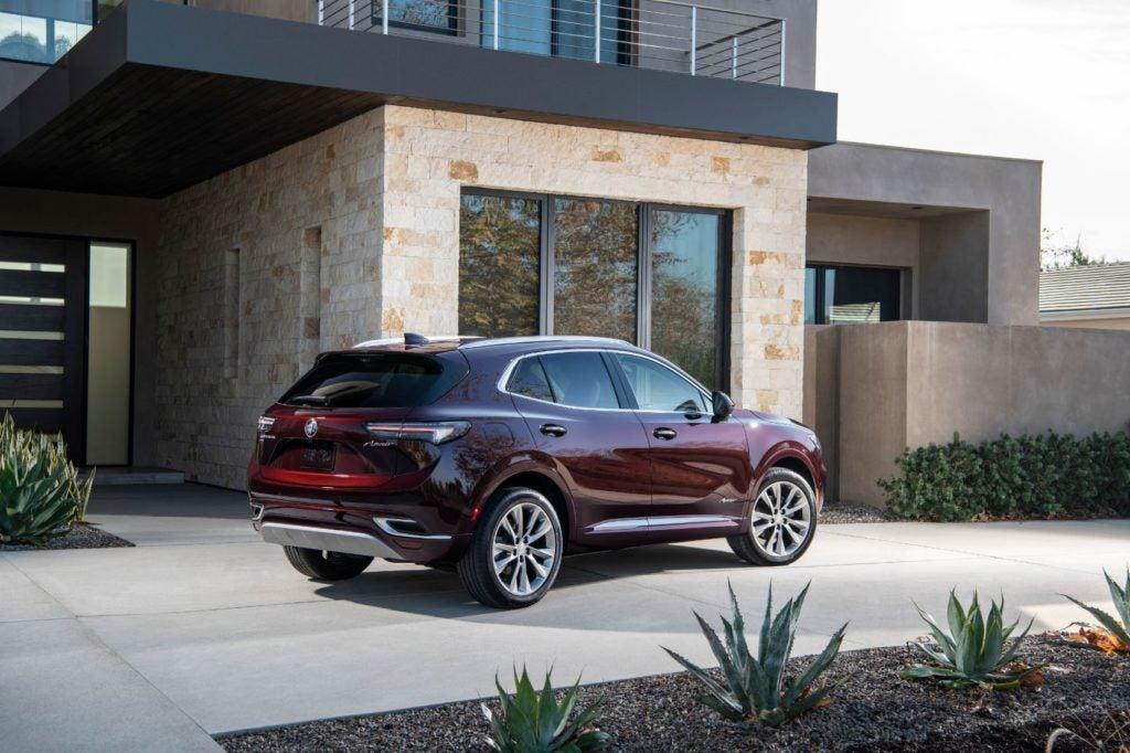 2021 Buick Envision Avenir.