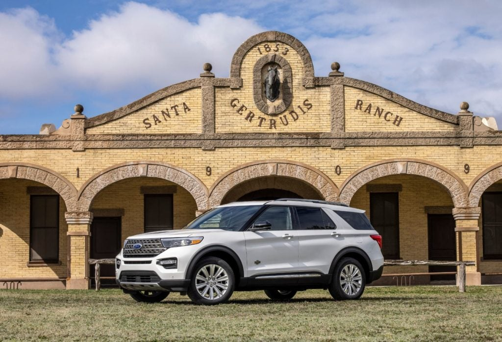 2021 Ford Explorer King Ranch.