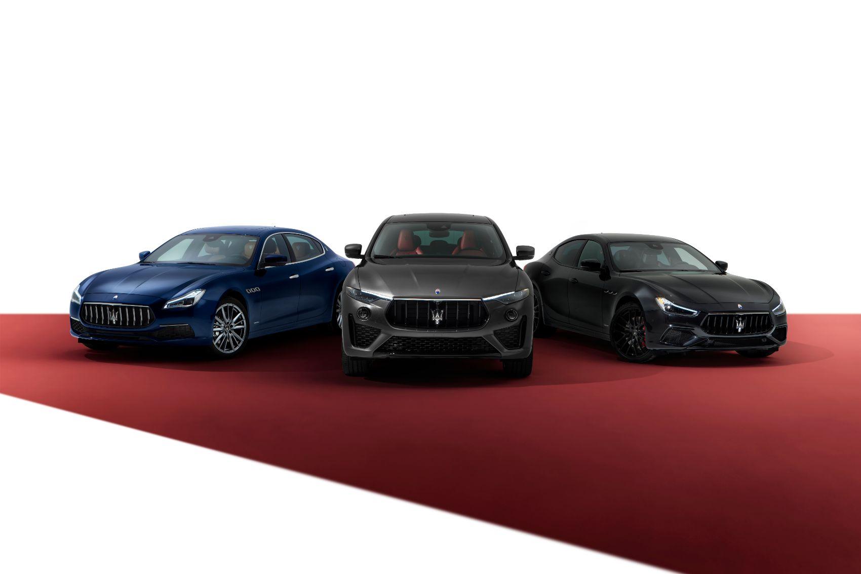2021 Maserati Lineup