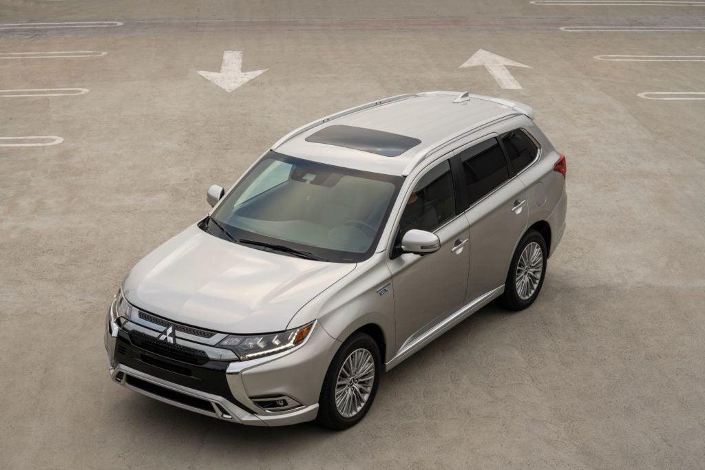 2021 Mitsubishi Outlander PHEV 6