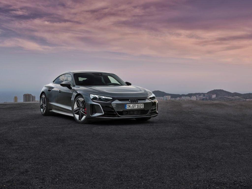2022 Audi e tron GT 10