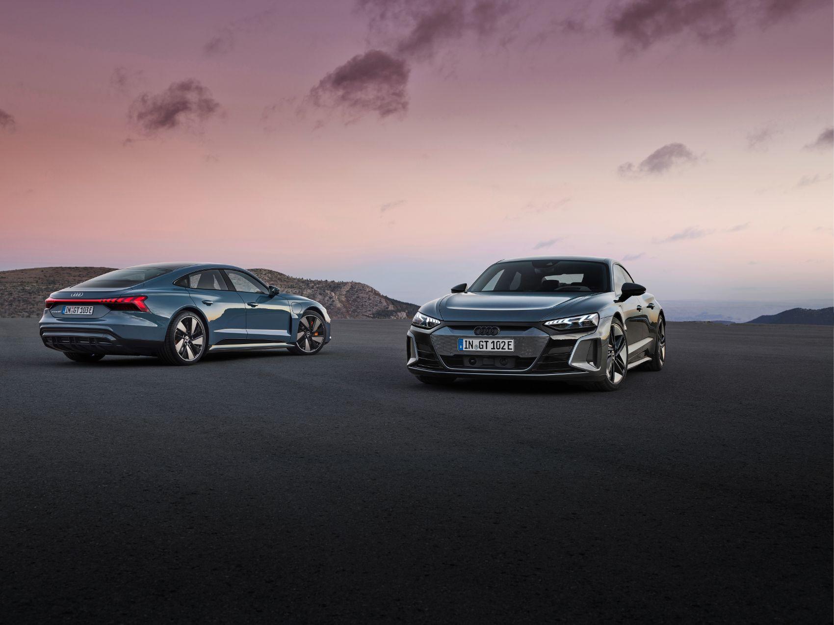 2022 Audi e tron GT 12