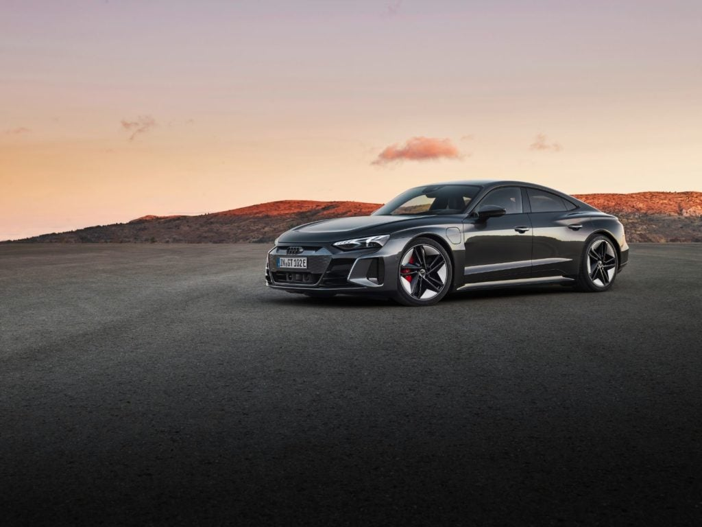 2022 Audi e tron GT 2