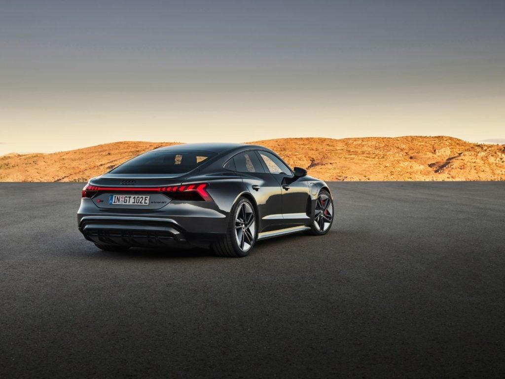 2022 Audi e tron GT 3