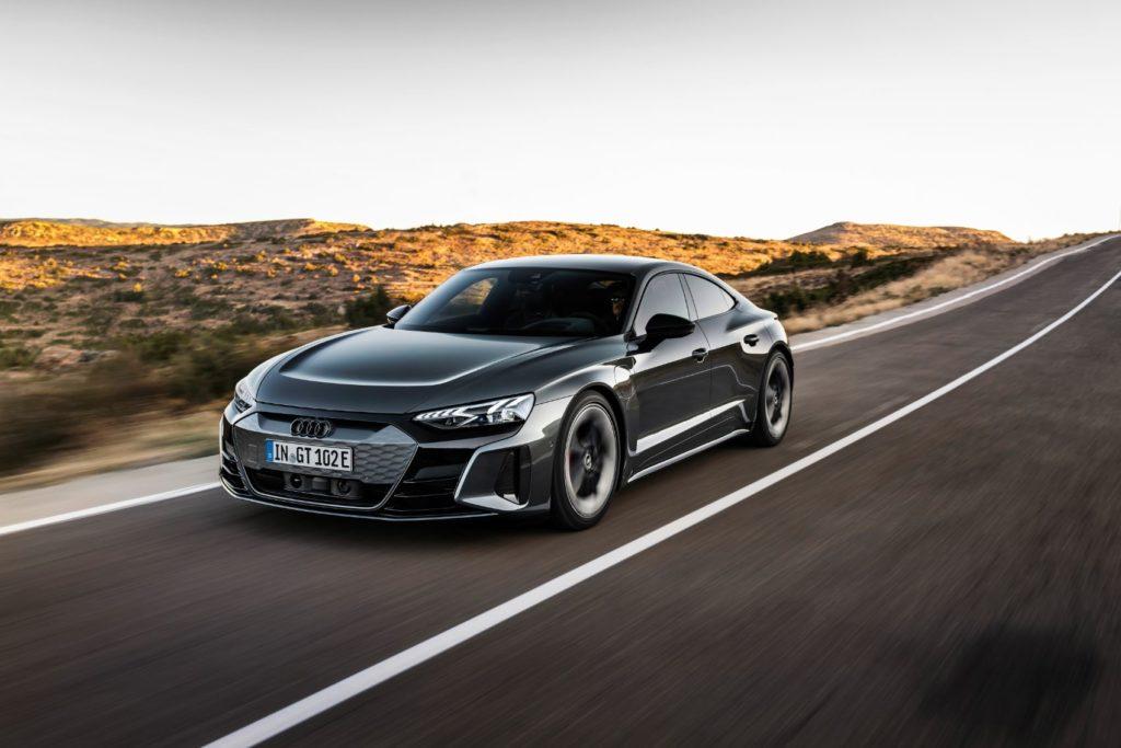 2022 Audi e tron GT 8