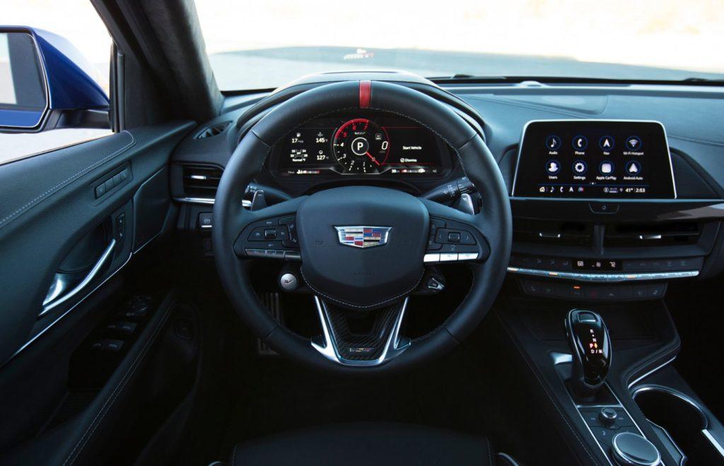 2022 Cadillac CT4 V Blackwing 11