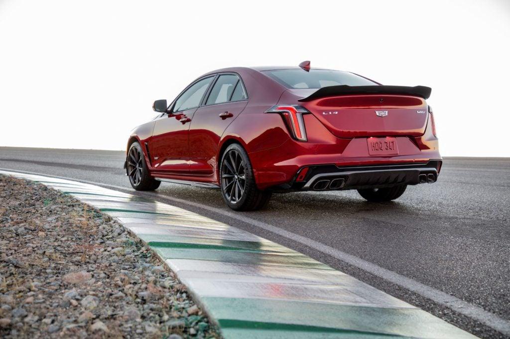 2022 Cadillac CT4-V Blackwing.