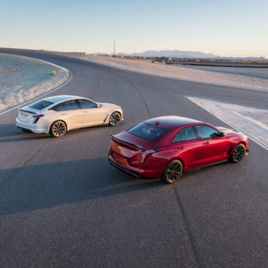 2022 Cadillac CT4 V and CT5 V Blackwing 3