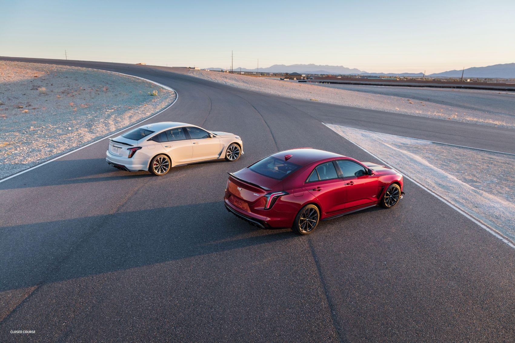 2022 Cadillac CT4 V and CT5 V Blackwing 3