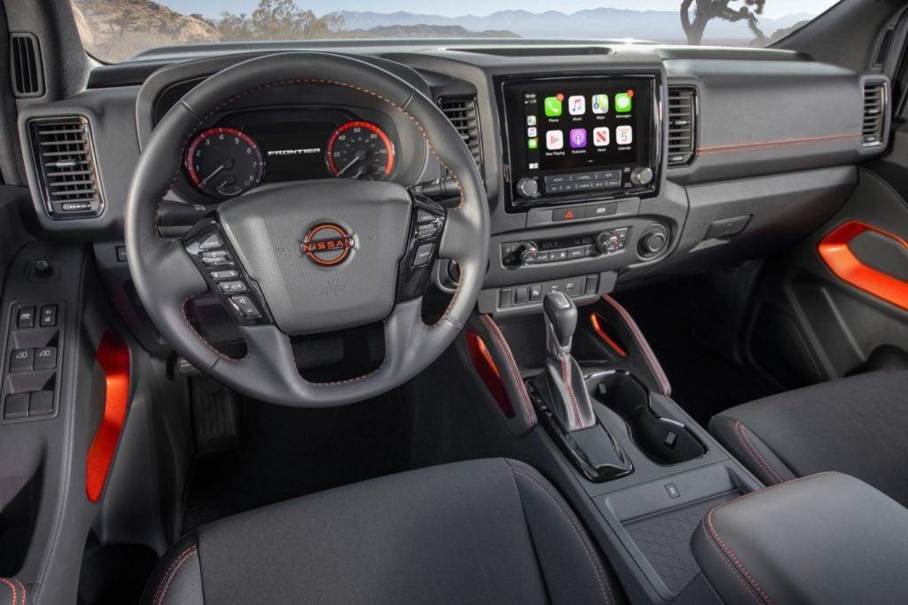 2022 Nissan Frontier 36