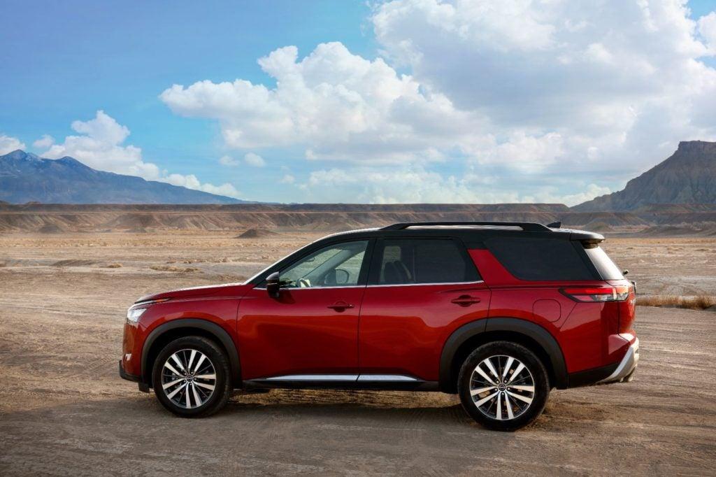 2022 Nissan Pathfinder 13