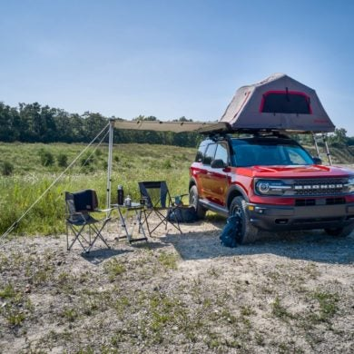 Bronco Sport Camping