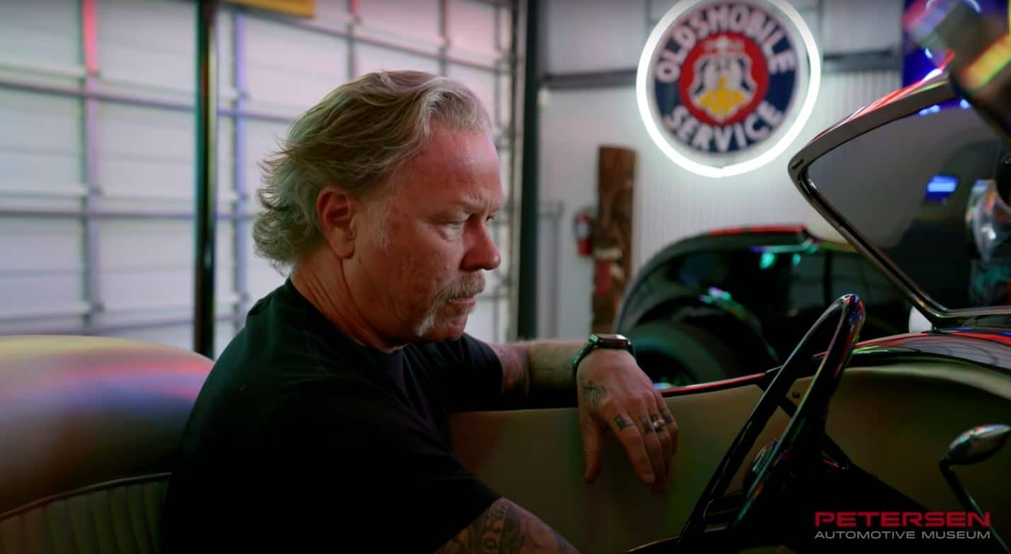Metallica's James Hetfield On Music & Cars With The Petersen Automotive Museum