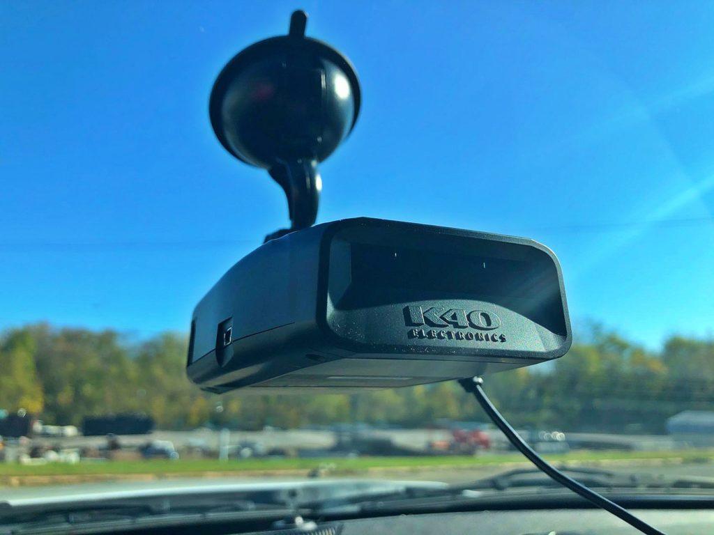 K40 Platinum100 portable radar detector.