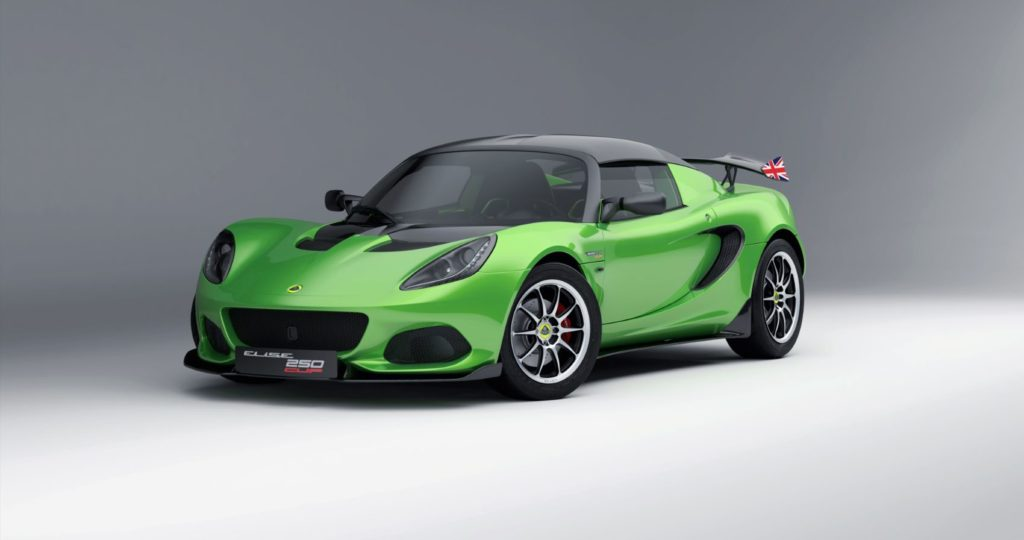 Lotus Elise Cup 250 Final Edition