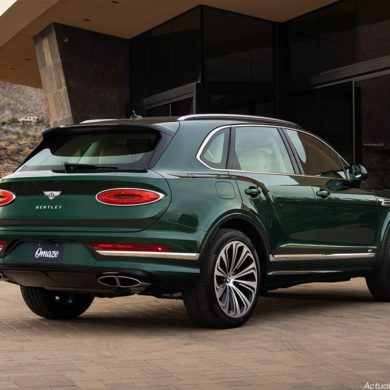 2021 Bentley Bentayga V8 Omaze 8