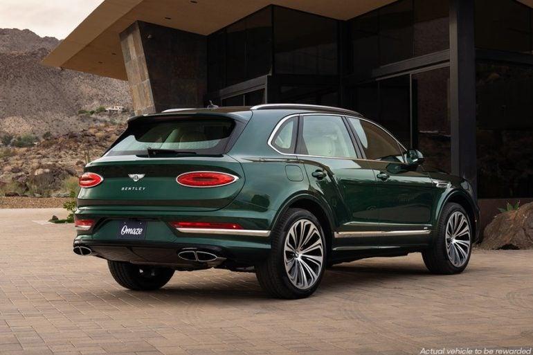2021 Bentley Bentayga V8 Omaze 8