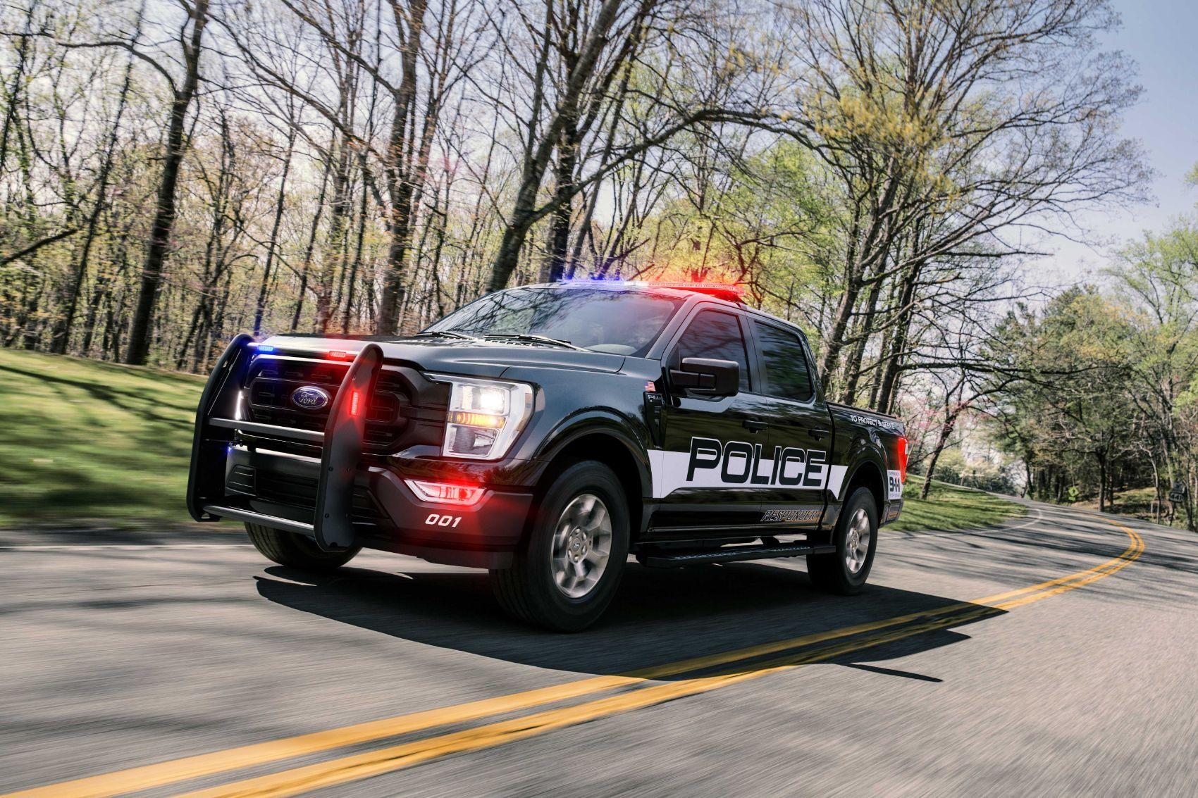 2021 Ford F 150 Police Responder 2