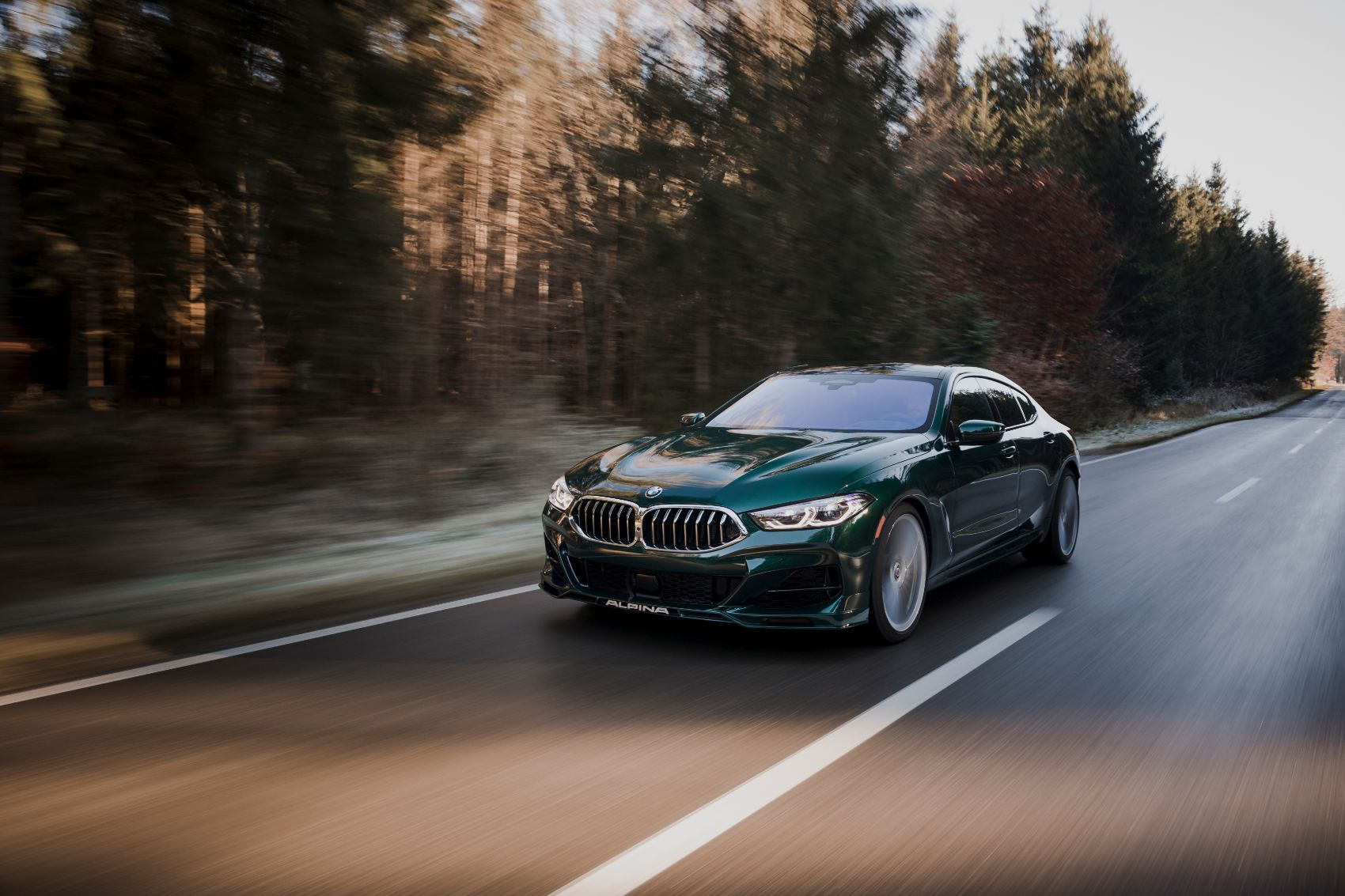 BMW Alpina B8 Gran Coupe: German Muscle At Its Finest
