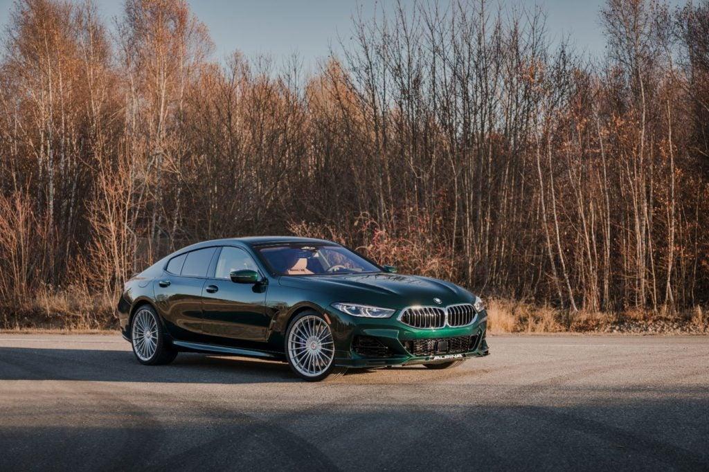2022 BMW Alpina B8 Gran Coupe.