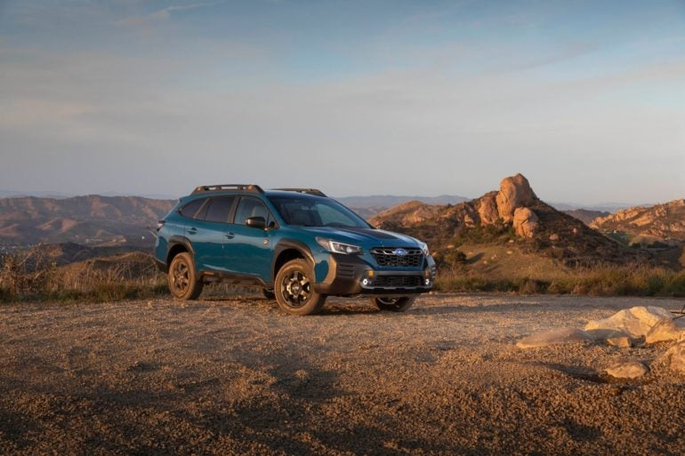 2022 Subaru Outback Wilderness 38