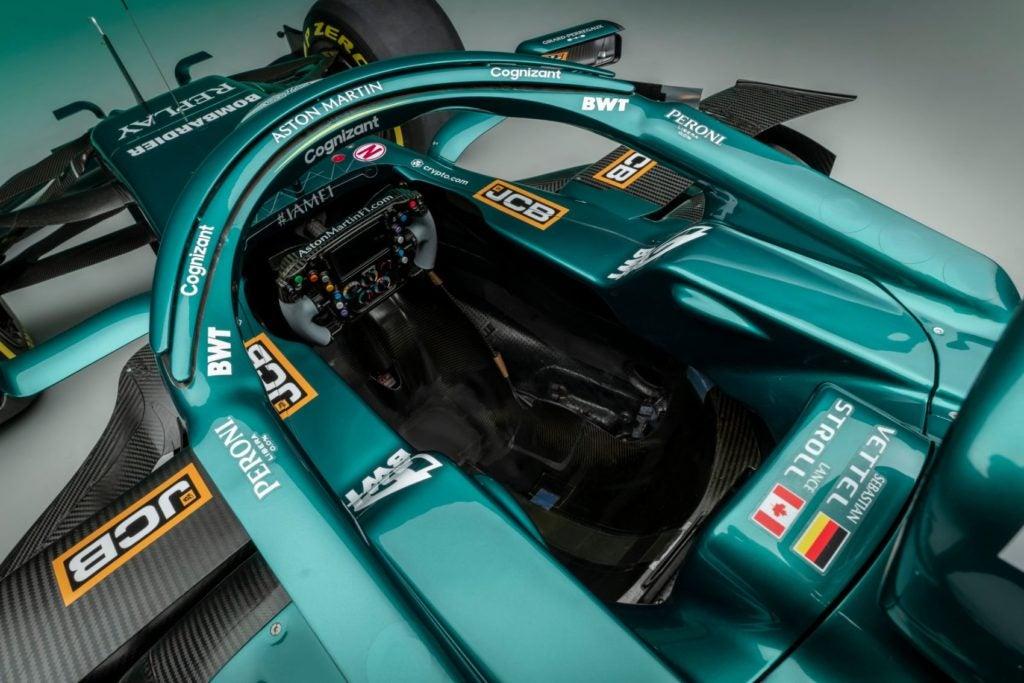 Aston Martin Cognizant Formula One Team car.