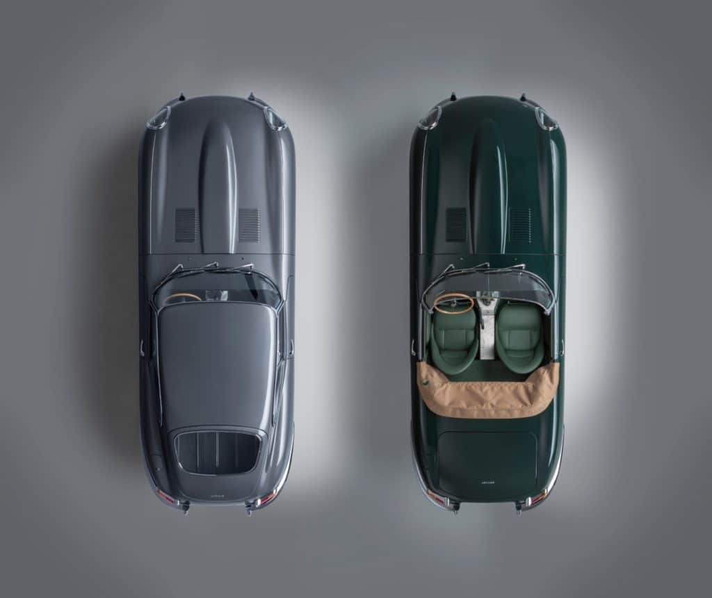 "Jaguar Classic is creating six limited-edition matched pairs of restored 3.8 E-type sports cars inspired by the iconic ""9600 HP"" and ""77 RW"" examples from the 1961 Geneva launch – each pair is known as the E-type 60 Collection."