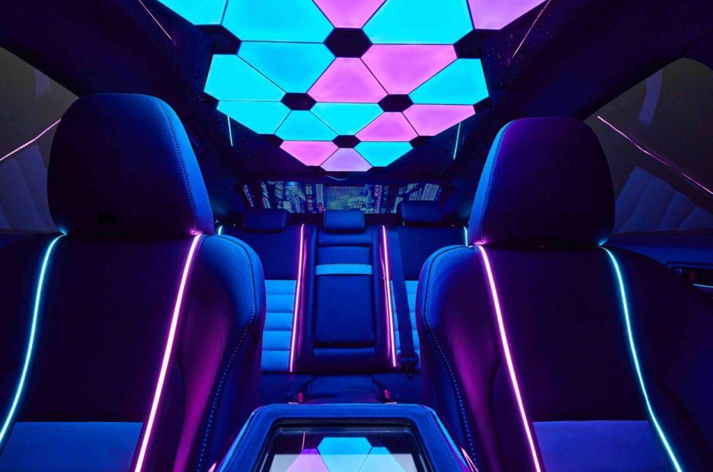 Lexus Gamers' IS interior layout.