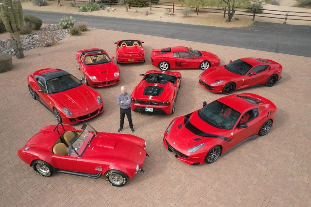 Mecum Auctions will host its third annual auction in Glendale, Arizona, at State Farm Stadium on March 18th through the 20th. The 1,200-car lineup will be headlined by the collection of Steve Todhunter, which comprises 20 vehicles ranging from seven pristine, low-mile Ferraris to a 1965 Shelby 427 Cobra FAM previously owned by the late actor Paul Walker.