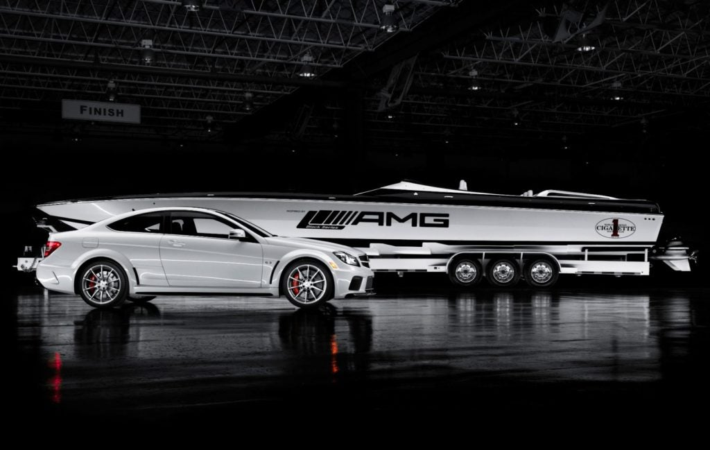 Mercedes-AMG and Cigarette Racing