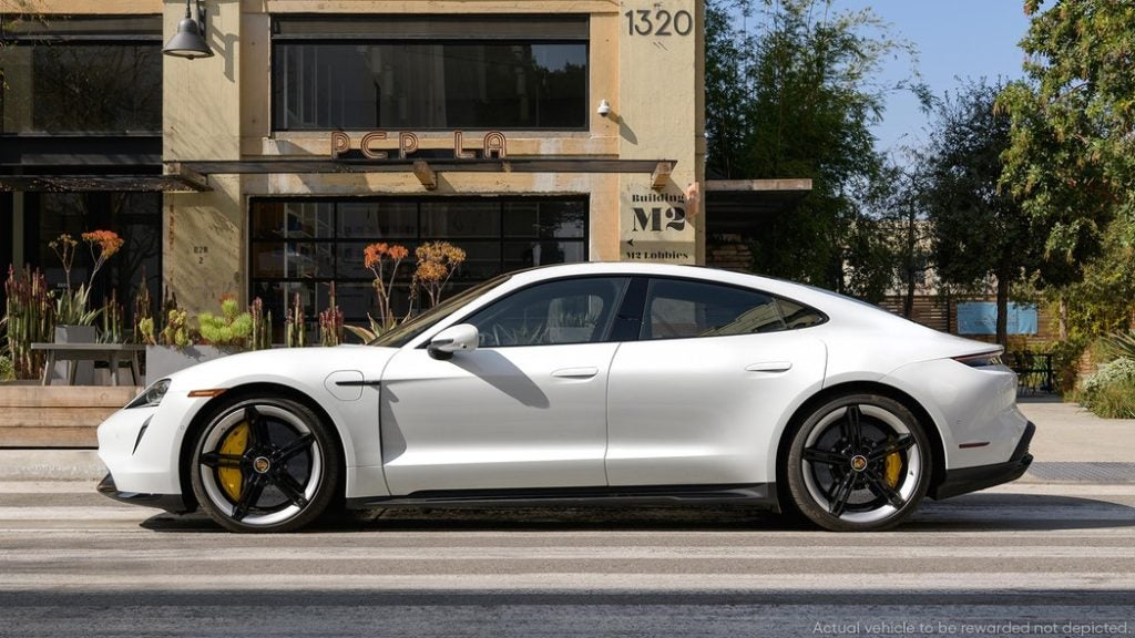 In this Omaze campaign, you have a chance to win a 2021 Porsche Taycan Turbo S, the first all-electric car in Porsche's line up, along with $20,000 in cash.