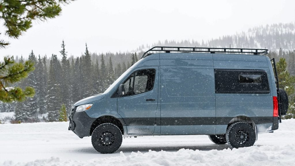 Win a Sprinter Van with an $80,000 Vansmith Conversion!