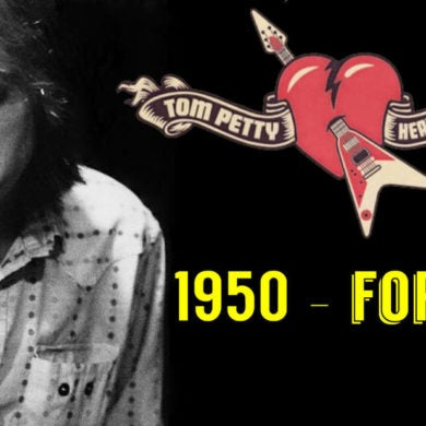 Tom Petty Banner