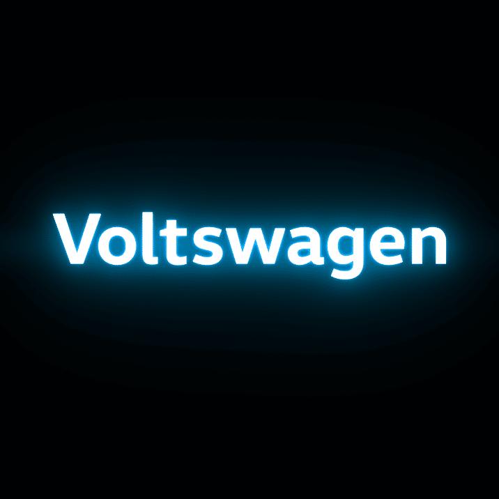 Voltswagen logo.