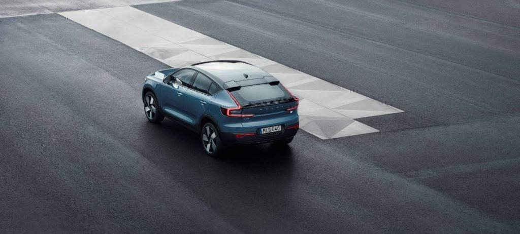 2022 Volvo C40 Recharge.