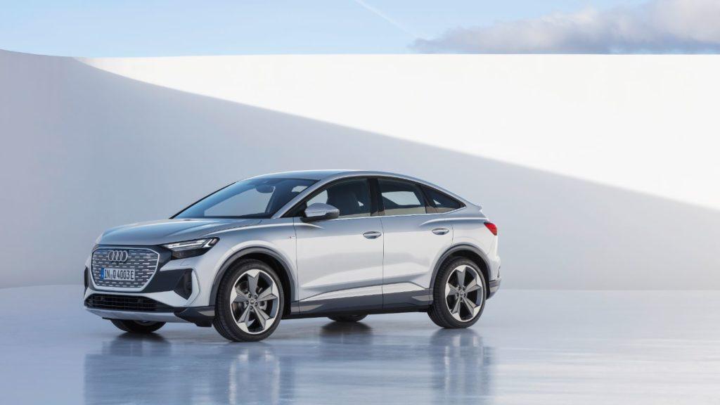 2022 Audi Q4 Sportback e-tron.