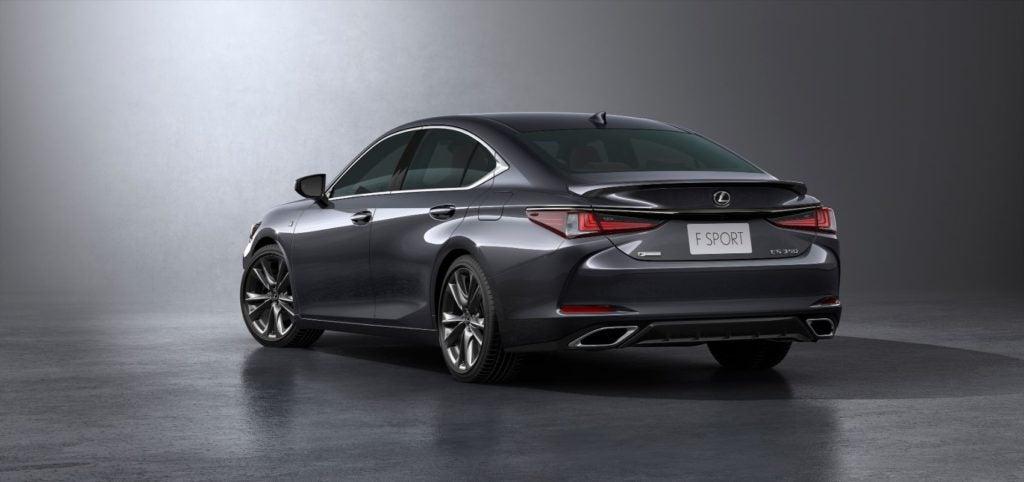 2022 Lexus ES 350 F Sport.