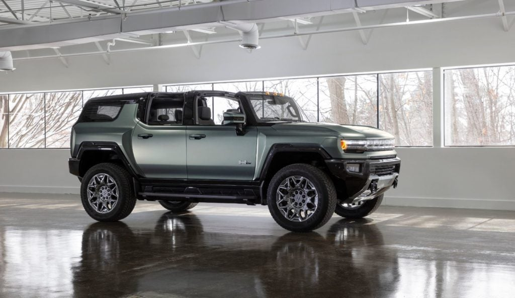 2024 GMC Hummer EV SUV.