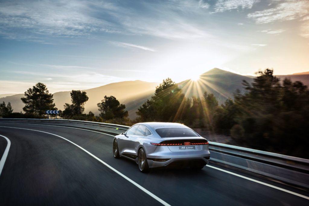 Audi A6 e tron concept 5