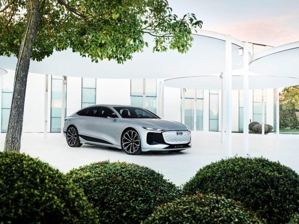 Audi A6 e tron concept 8