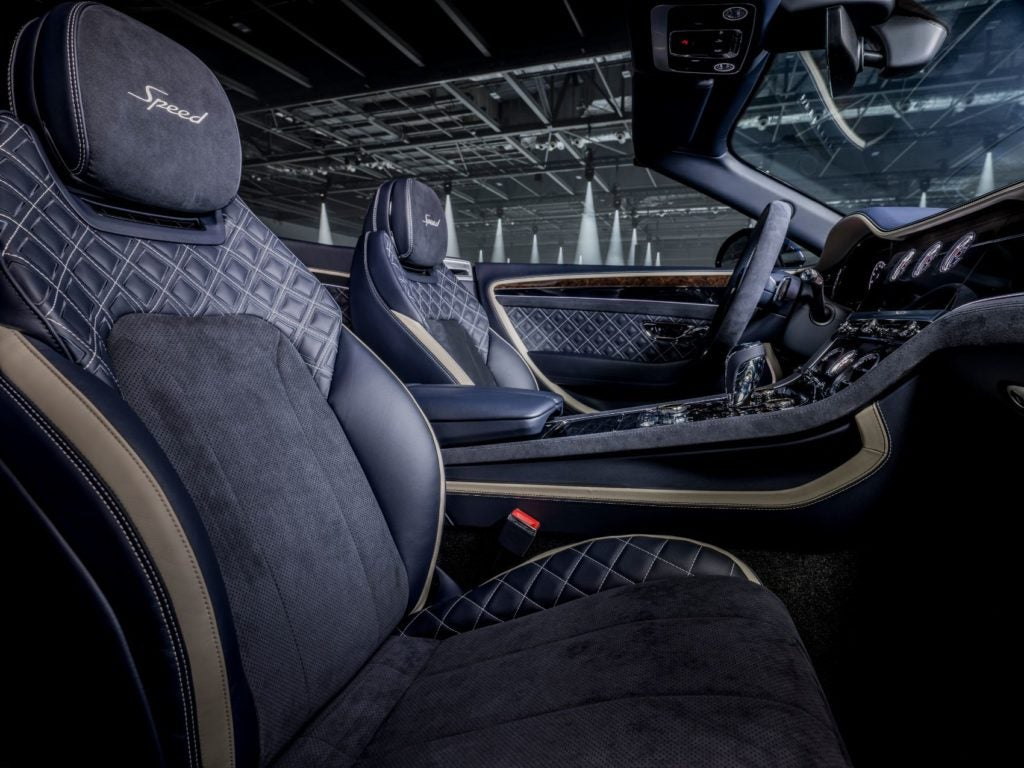 Bentley Continental GT Speed Convertible 11
