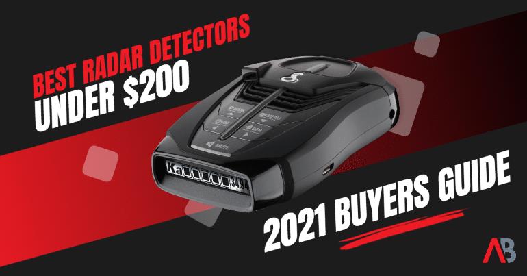 Best radar detectors under $200 banner