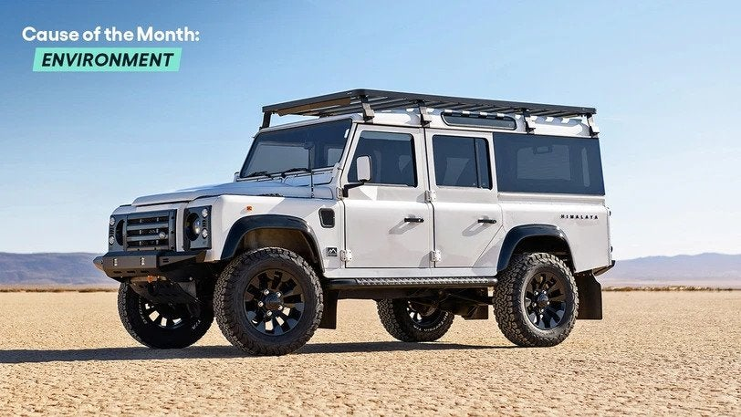 Win a Himalaya Land Rover Defender 110 EV & $20,000 Cash!