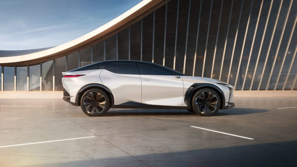 Lexus LF-Z Electrified Concept.