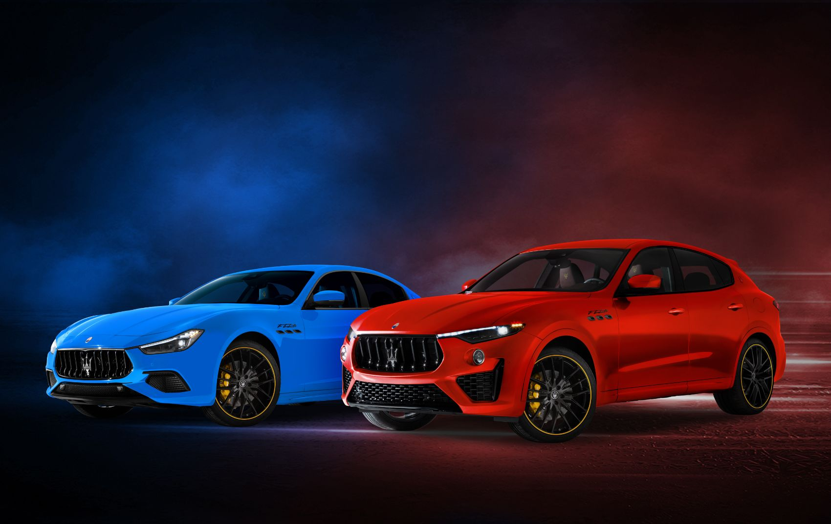 Enjoy This Gallery of The New Maserati F Tributo Ghibli & Levante