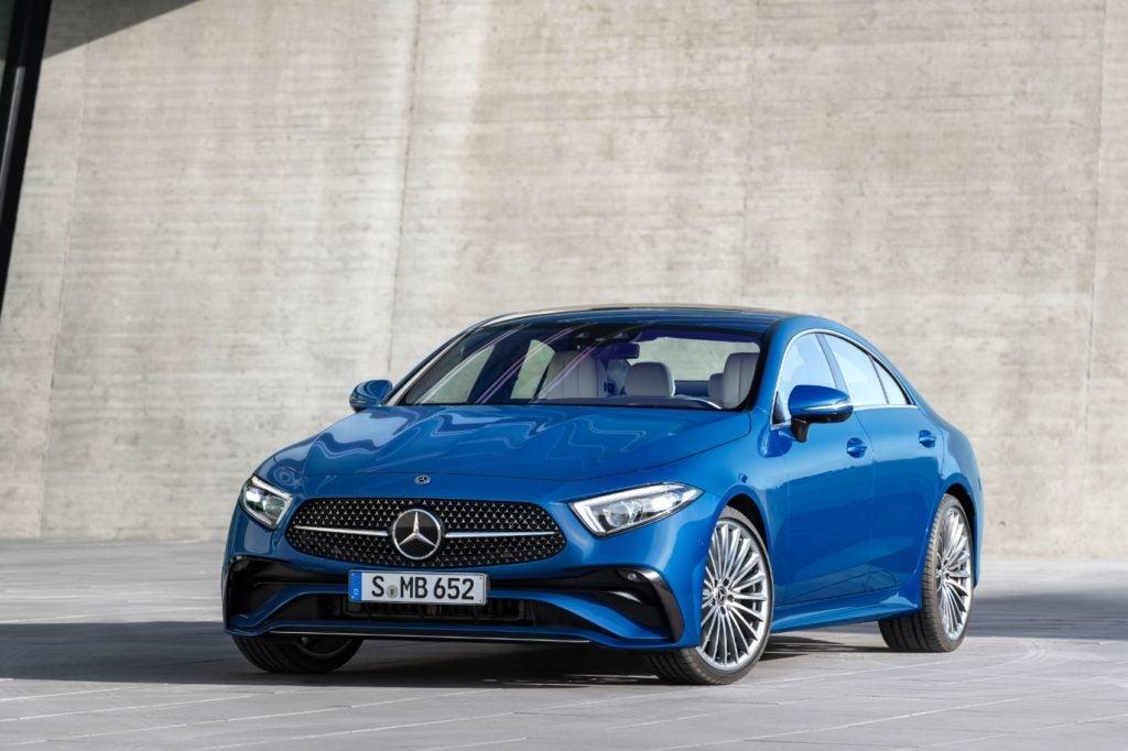 Mercedes Benz CLS 21