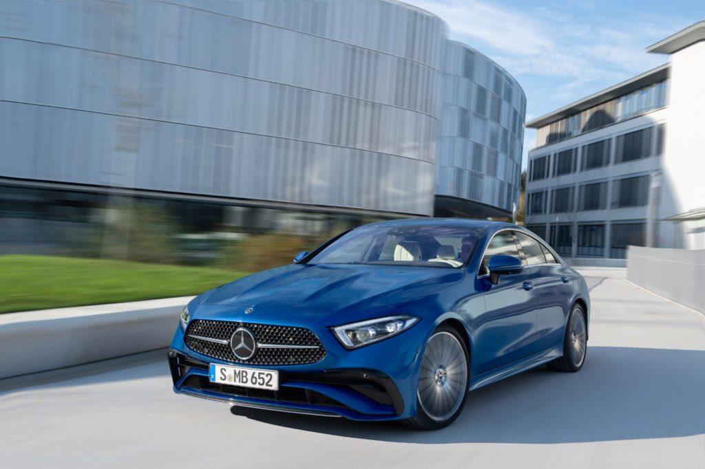 2022 Mercedes-Benz CLS.
