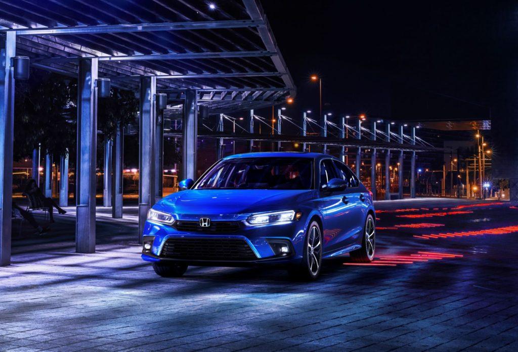 2022 Honda Civic Touring.