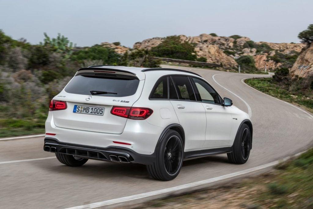 2022 Mercedes AMG GLC 63 S SUV 3